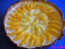 Tarte aux agrumes (orange et pamplemousse)